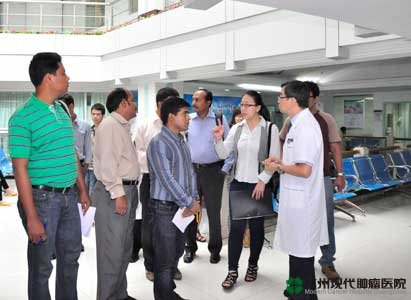 Modern Cancer Hospital Guangzhou, Bangladeshi media delegatio