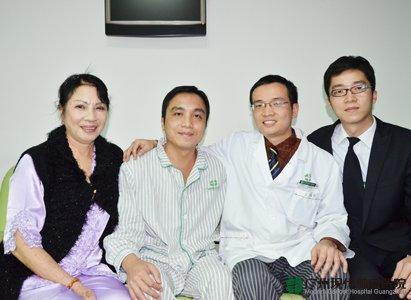 esophageal cancer, Modern Cancer Hospital Guangzhou