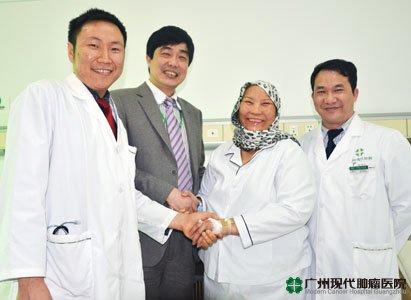 Metode pengobatan tumor baru, bejolan tumor mengecil
