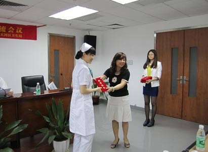 Modern Cancer Hospital Guangzhou, Outstanding Nurse