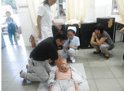 广州现代肿瘤医院,急救培训