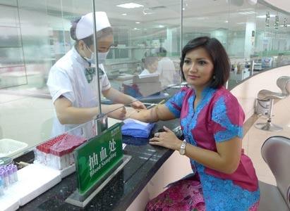 粒子手术,肿瘤,癌症,TVRI电视台,Melani  Indra  Hapsari