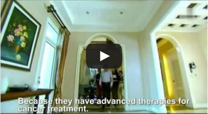 Modern Cancer Hospital Guangzhou's Cryotherapy in a Thai TV play