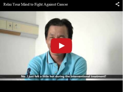 Relax Your Mind to Fight Against Cancer