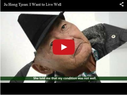 Ju Hong Tjoan: I Want to Live Well