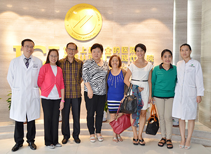 Dr. Dizon from Philippines Complete Wellness Center visited Modern Cancer Hospital Guangzhou