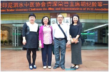 Ketua Asosiasi Pengobatan Tradisional China Di Surabaya – Mr. Hu Jiling Mengunjungi Modern Hospital Guangzhou