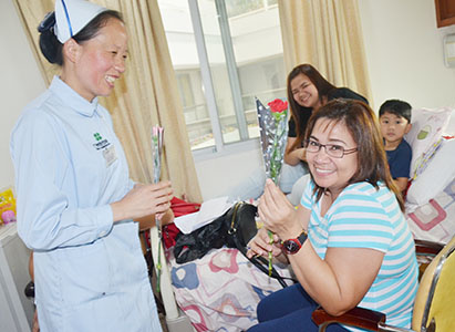 Women's day, Modern Cancer Hospital Guangzhou, cancer treatment in China
