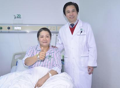 ung thư buồng trứng, điều trị ung thư buồng trứng, liệu pháp can thiệp, liệu pháp vi sóng, bệnh viện ung bướu Quảng Châu
