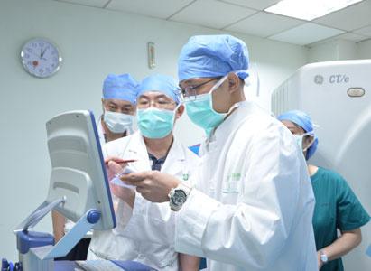 bệnh viện Ung Bướu Hiện Đại Quảng Châu, dao nano, điều trị ung thư tuyến tụy
