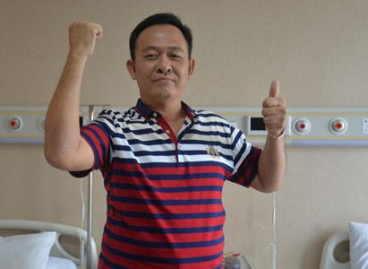 鼻咽癌,鼻咽癌治疗,鼻咽癌患者故事,介入治疗,广州现代肿瘤医院