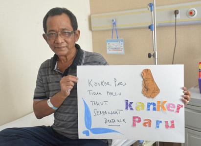 布拉达(BRATA WAHYU RIZAL):战胜肺癌,有微创,有信心
