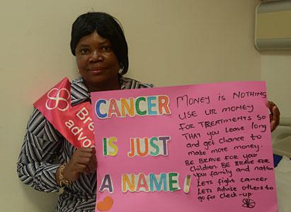 紫罗兰:综合治疗让乳腺癌患者摆脱痛苦