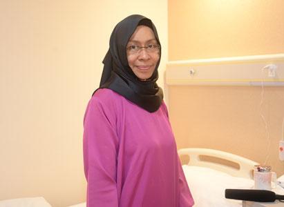 沙意达:介入治疗+冷冻治疗,让我坚强面对四期肺癌