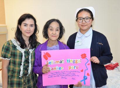 我陪母亲一起战胜癌症——一个肺癌患者女儿的自白