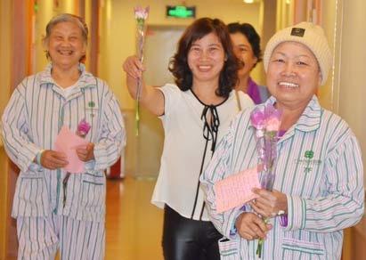 """Kami Pasien dari Mancanegara di St. Stamford Modern Cancer Hospital Guangzhou dengan Bangga Mengirimkan Ucapan Selamat Kepada Dokter""""Hari Dokter Dunia"""""""