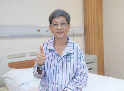 麦蒂:因为信任,所以选择 ——一名77岁肠癌Ⅳ期患者的抗癌历程