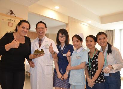 Bệnh nhân ung thư quốc tế đã trải qua ngày tết Đoan Ngọ tại Quảng Châu như thế nào?
