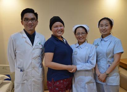 陈佩玲:一个面对癌症微笑的姑娘