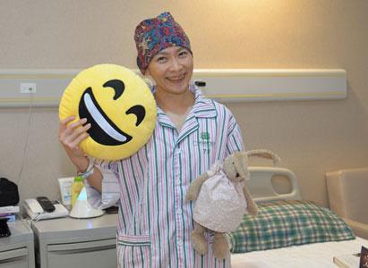 菲菲:癌症让我更热爱生命,享受生活
