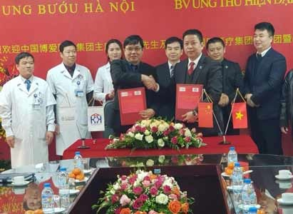 March on Mutual Cooperation, Enable Artificial Intelligence in Medicine---China and Vietnam Two Cancer Hospitals officially signed up strategical cooperation agreement
