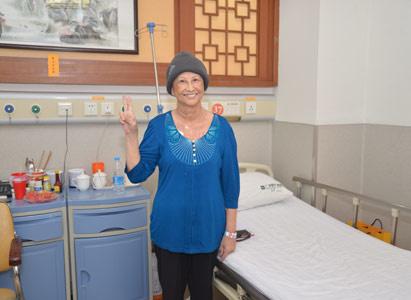 Ung thư cổ tử cung giai đoạn cuối, điều trị xâm lấn tối thiểu, liệu pháp Keo Fibrin tự thân, Bệnh viện Ung thư St.Stamford Quảng Châu