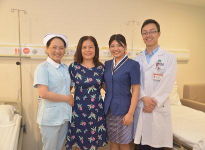 ung thư kết tràng, điều trị can thiệp, Bệnh viện Ung thư St.Stamford Quảng Châu