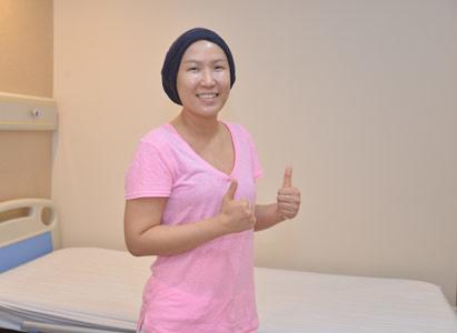 6 liệu trình hóa trị khổ sở! kĩ thuật xâm lấn tối thiểu giúp tôi dễ dàng chiến thắng ung thư vú!